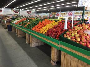 Fresh vegetables offered at Rockaway Farmers Market in Rockaway NJ