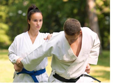 Karate practice at Rockaway Karate Academy in Rockaway NJ