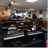 Pianos available at Rockaway Music in Morris Plains NJ