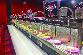 Sushi Conveyor belt dining