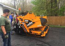 Rocky Top Asphalt Paving has heavy equipment to get the paving job done right