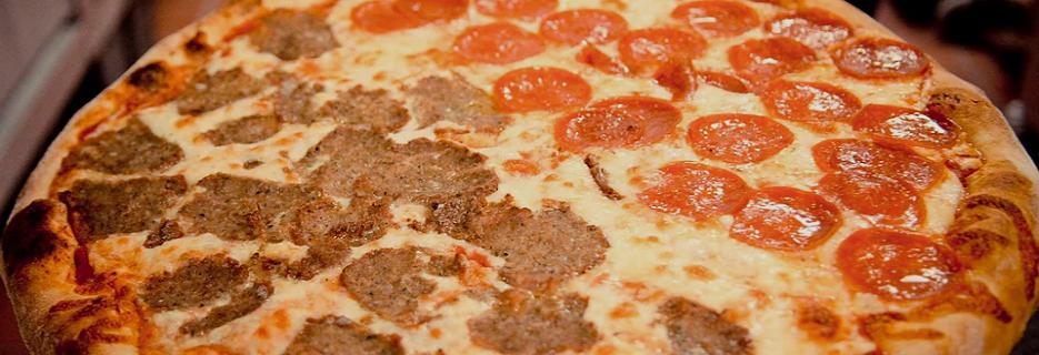 Rosa's Pizza banner Marietta, GA
