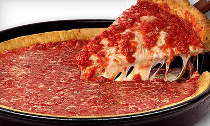Deep Dish Pizza from Rosati's - Chicago-Style