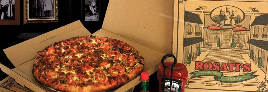 Rosati's Pizza banner Glenview, IL