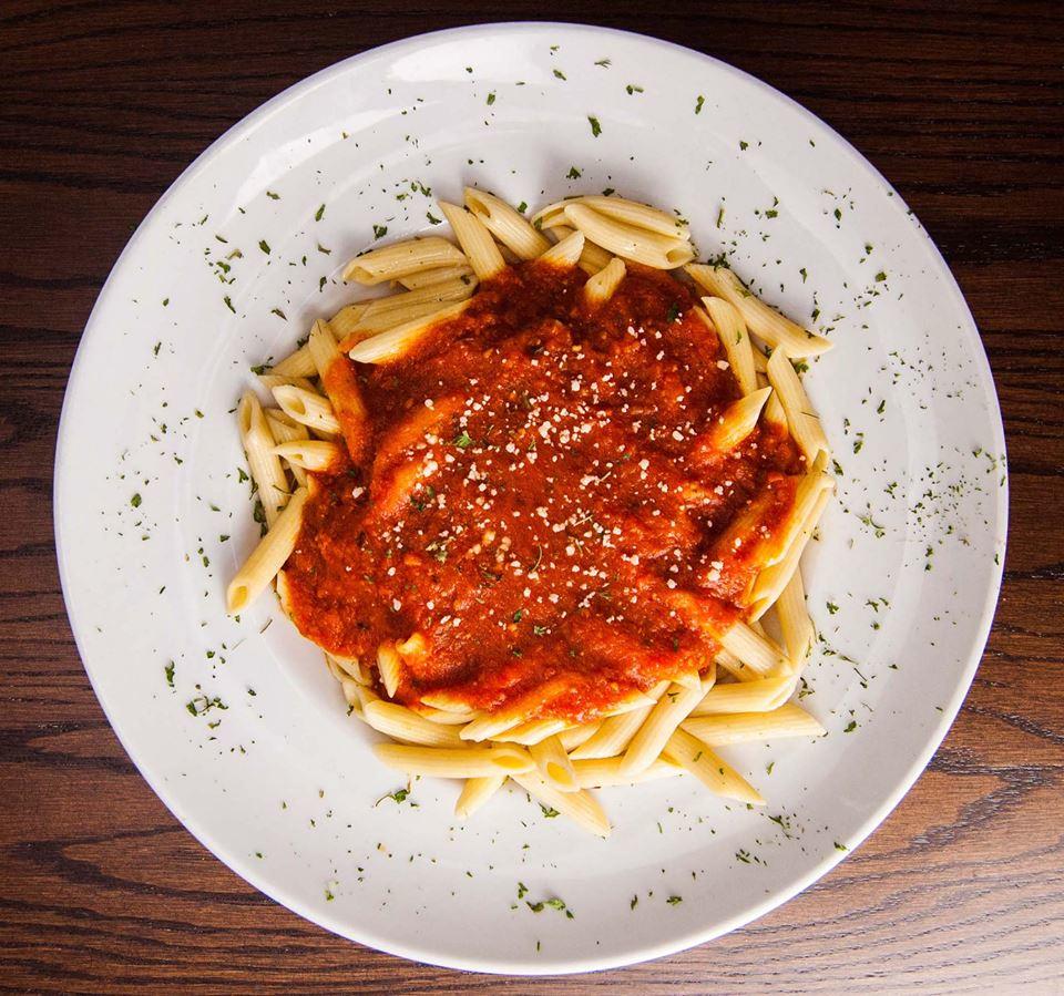 Rosati's pizza Frederick maryland pasta dishes