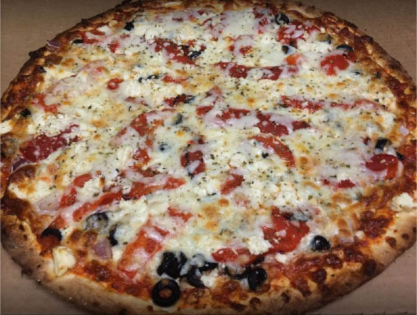 We offer 24 ingredients and 16 specialty pizzas. Our Deep Dish pizza is amazing!