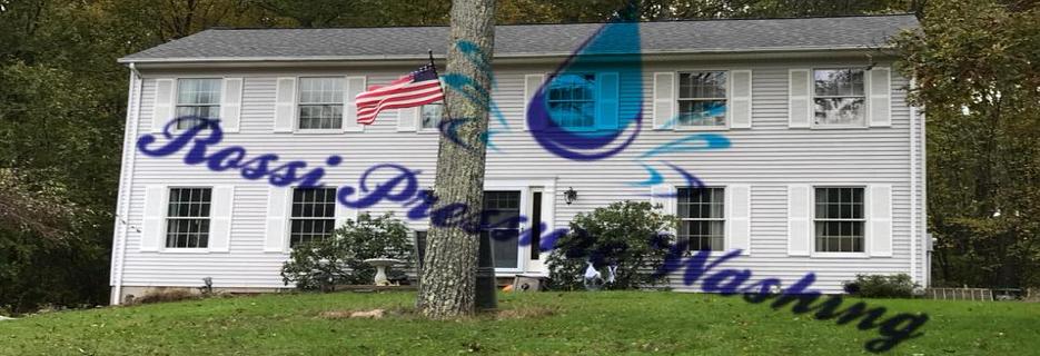 Rossi Pressure Washing, LLC banner Nutley, NJ