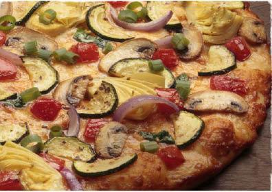 veggie pizza pie