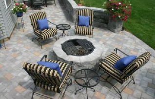 Firepit by Route 23 Patio & Mason Center in Hamburg NJ