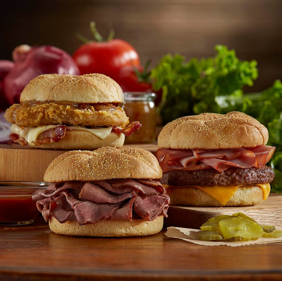 Roy Rogers Frederick, MD beef sandwiches, chicken sandwiches, burgers