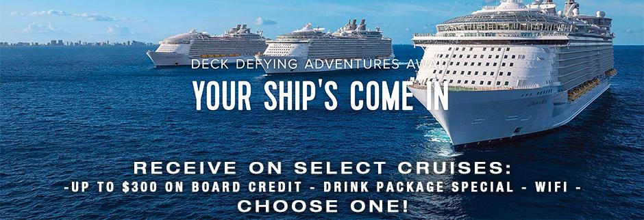 expedia cruise ship centers madison WI banner