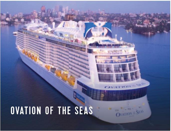 Expedia Royal Caribbean madison ovation cruise
