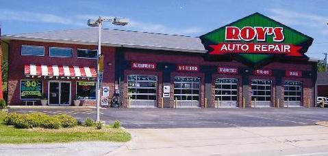 Roy's Auto Repair - shop frontage