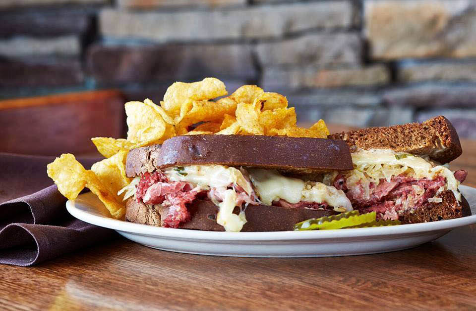Reuben Sandwich from Celts Craft House Apple Valley, MN