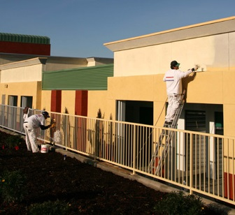 Commercial painting done by Runland Painting in Puyallup, WA - Puyallup painters