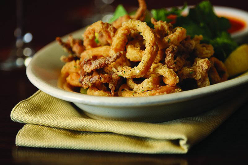 Get calamari and other apps near Mission bend