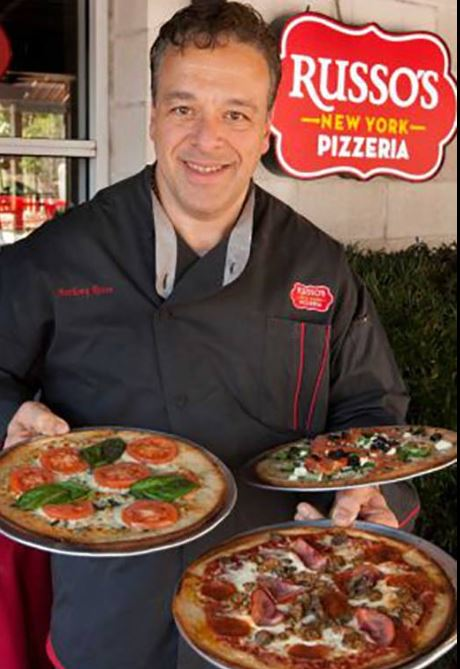 Russo's pizza owner serving near Richmond
