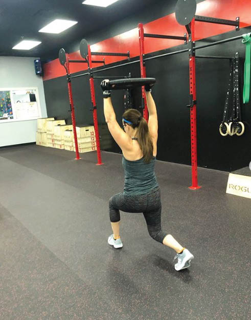 Solo workouts at Station Athletics for Her in Denville, NJ