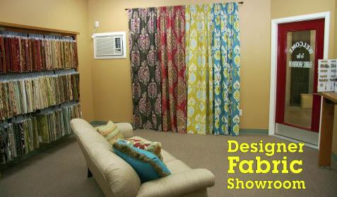 San Antonio Upholstery Fabrics Showroom