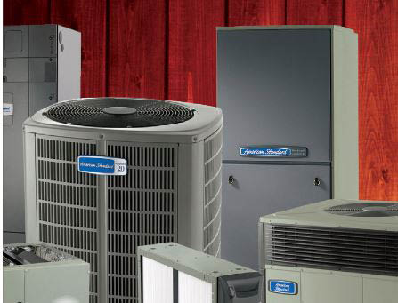 Air conditioner installation by trained and professional HVAC technicians