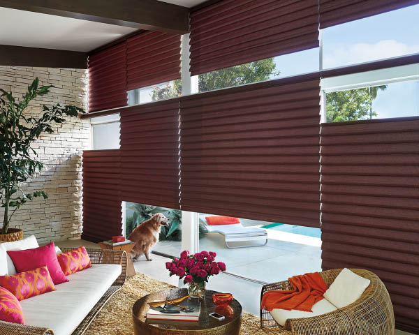 Hunter Wood & Faux Wood Blinds, Woven Wood Shades