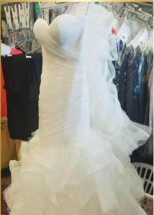 Wedding dress perseveration