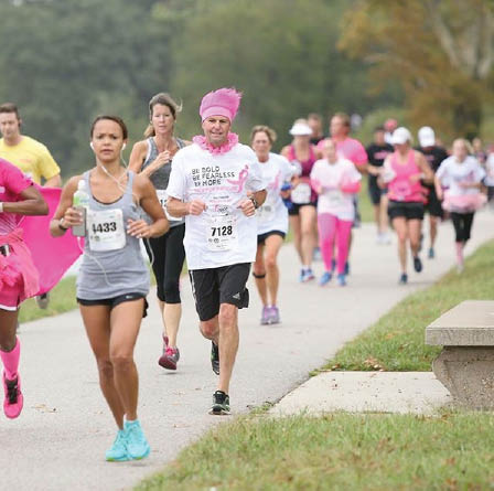 Susan G. Komen Race For the Cure Maryland runners