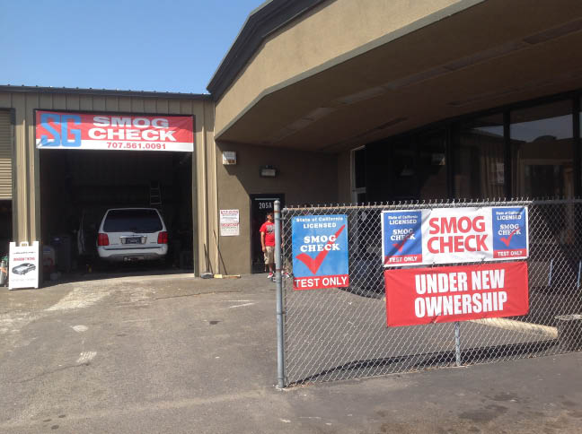 SG Smog Check Center is spacious and clean. Bring your vehicle in for its smog check in Vallejo, CA today.