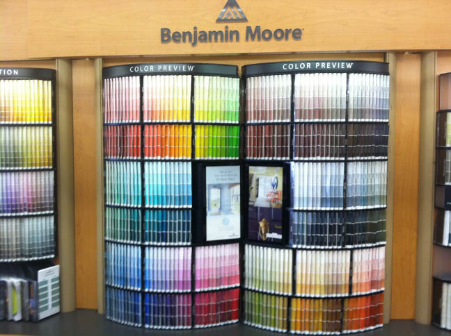 Shamrock Paints Benjamin Moore