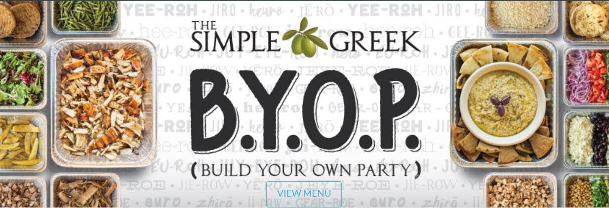 THE SIMPLE GREEK BANNER
