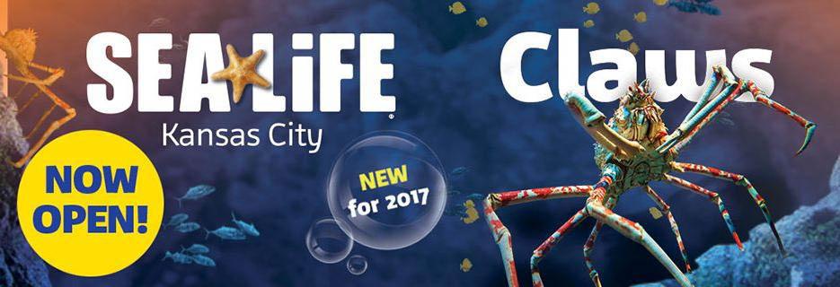 Sealife Kansas City Claws Opening soon