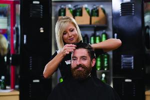 Beard trimming at MVP