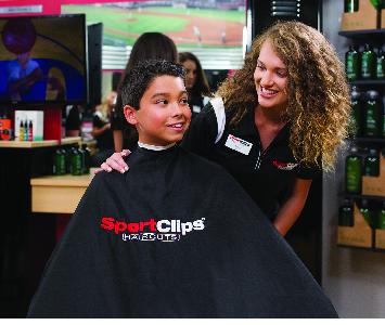 Boy's haircuts at MVP Mid Rivers Mall