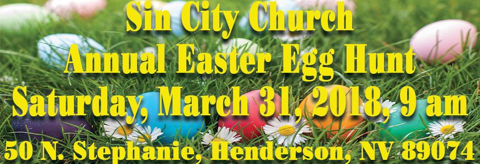 church easter egg hunt henderson NV las vegas NV