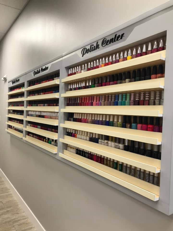 We offer a large selection of nail polish to choose from for your manicure and pedicure at ST Hair Salon & Spa in Redmond, Washington - Redmond nail salons near me - nail salon coupons near me