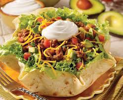 taco salad in Albuquerque, NM