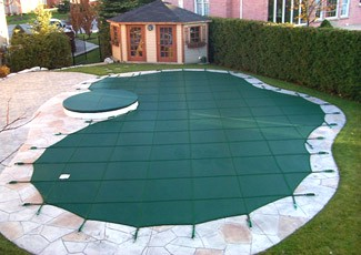 pool covers; safety equipment