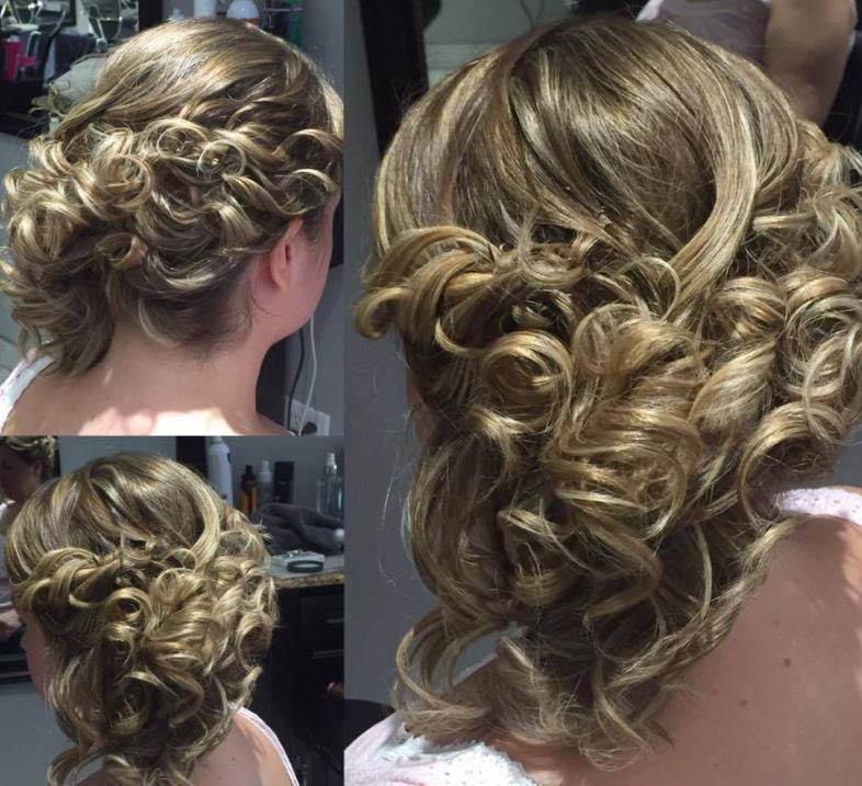 Sahara Salon, Up Do, hair