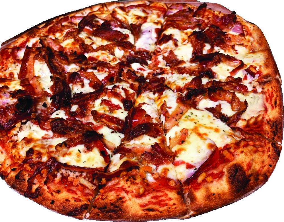 A Saint Giuseppe's pizza
