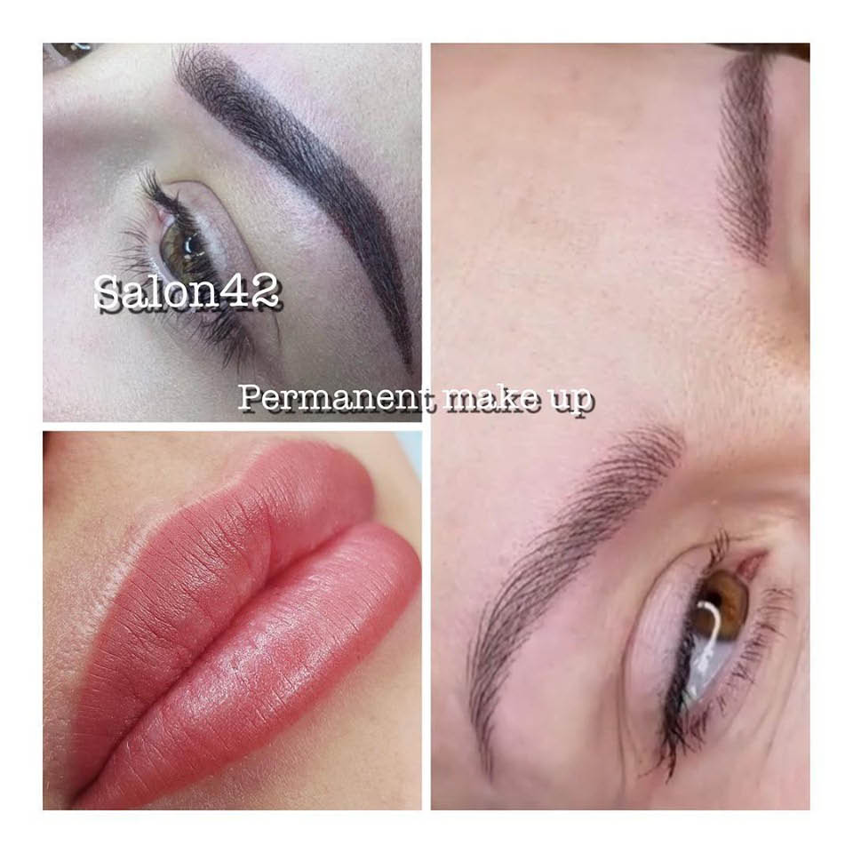 Salon 42 in Seattle, WA - permanent makeup for eyebrows - permanent makeup for lips - permanent eyeliner makeup - full service salon - permanent makeup in Seattle, WA - permanent makeup coupons near me