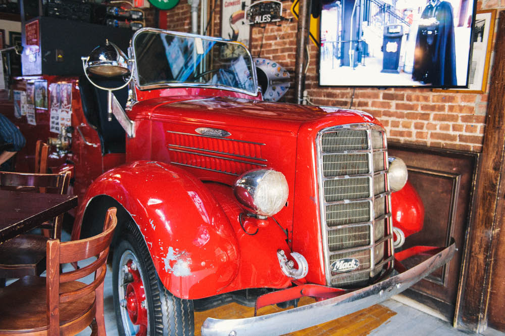 salty dog, restaurant, foods, drinks, grill, bar, discounts, savings, firehouse, brooklyn, vintage, firetruck, brooklyn, ny, nyc, bay ridge, new york, sit-down restaurant, 3rd avenue, fire department, beer, alcohol, entrees