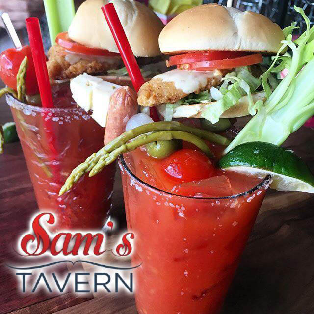 Incredible Bloody Marys at Sam's Tavern in Redmond, WA - Redmond bars - Redmond pubs - Redmond restaurants