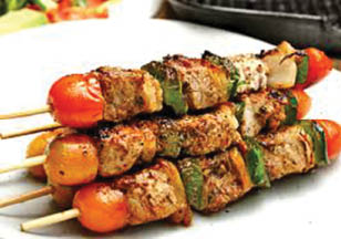 photo of kabobs from Sam's Kabob House in Clinton Township, MI