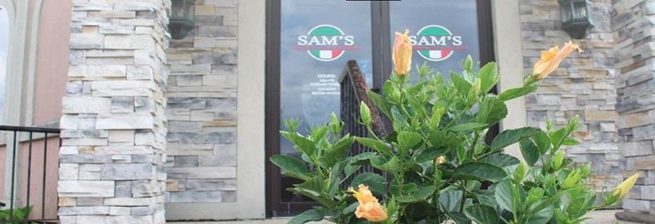 Sam's Ristorante & Pizzeria banner Machesney Park, IL