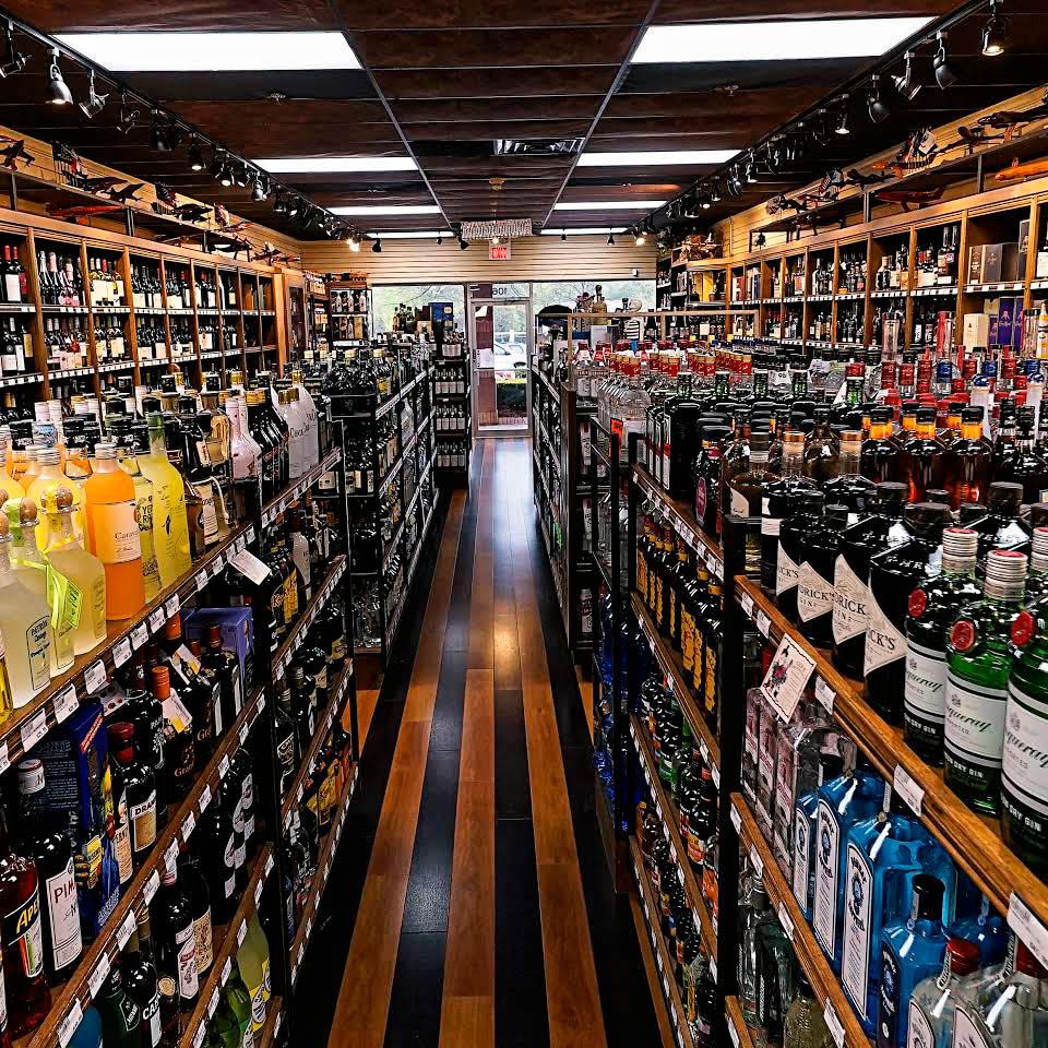 large liquor selection in alpharetta