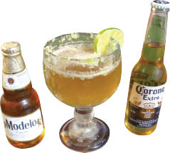 Margarita and Mexican beer discounts