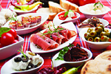 Tapas with gourmet meats and savory delights Seafood Restaurant Bayside NY