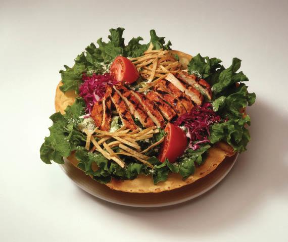 Chicken Taco Salad at Santa Fe Mexican Grill & Cantina in Shoreline, WA - authentic Mexican food