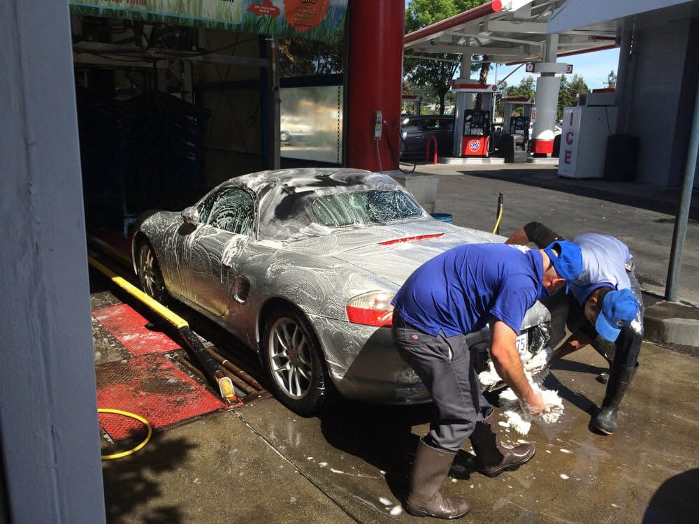 At Santa Rosa Pro Wash in Santa Rosa, CA, we carefully hand wash each vehicle before it enters the wash and hand dry it after.