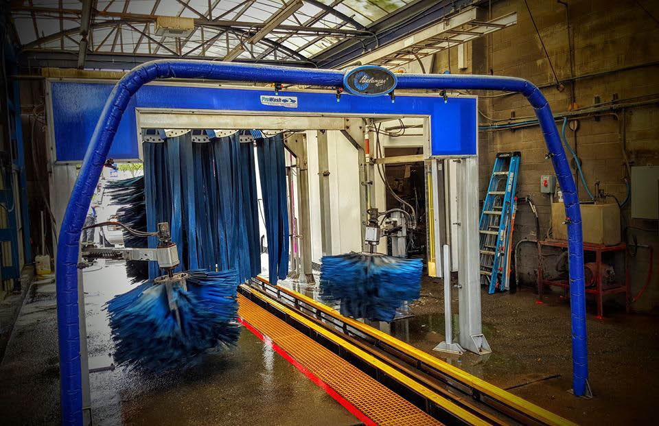 State of the art Car Wash System at Santa Rosa Pro Wash in Santa Rosa, CA.